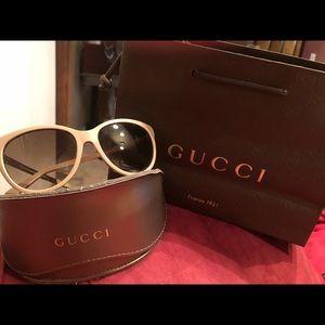 Gucci Womens Fashion Sunglasses 3784/S Havana Gold